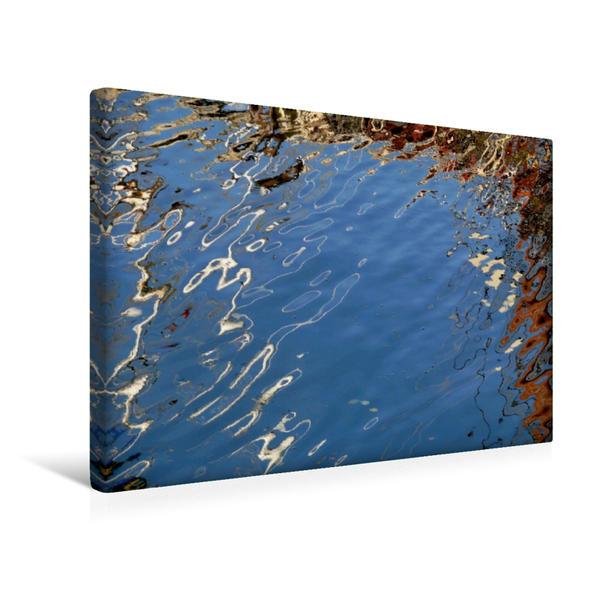 Premium Textil-Leinwand 45 cm x 30 cm quer, Spiegelung | Wandbild, Bild auf Keilrahmen, Fertigbild auf echter Leinwand, Leinwanddruck - Coverbild