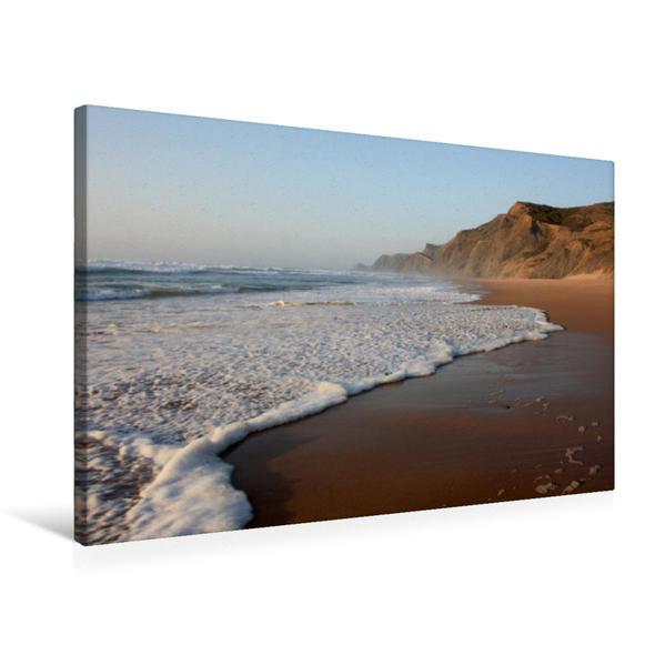 Premium Textil-Leinwand 75 cm x 50 cm quer, Praia do Cordama | Wandbild, Bild auf Keilrahmen, Fertigbild auf echter Leinwand, Leinwanddruck - Coverbild