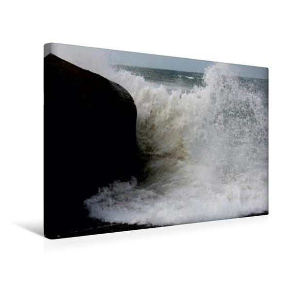 Premium Textil-Leinwand 45 cm x 30 cm quer, Ein Motiv aus dem Kalender Dänische Nordsee | Wandbild, Bild auf Keilrahmen, Fertigbild auf echter Leinwand, Leinwanddruck - Coverbild