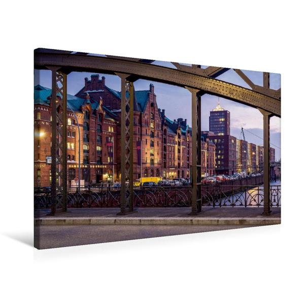 Premium Textil-Leinwand 75 cm x 50 cm quer, Kehrwieder   Wandbild, Bild auf Keilrahmen, Fertigbild auf echter Leinwand, Leinwanddruck - Coverbild