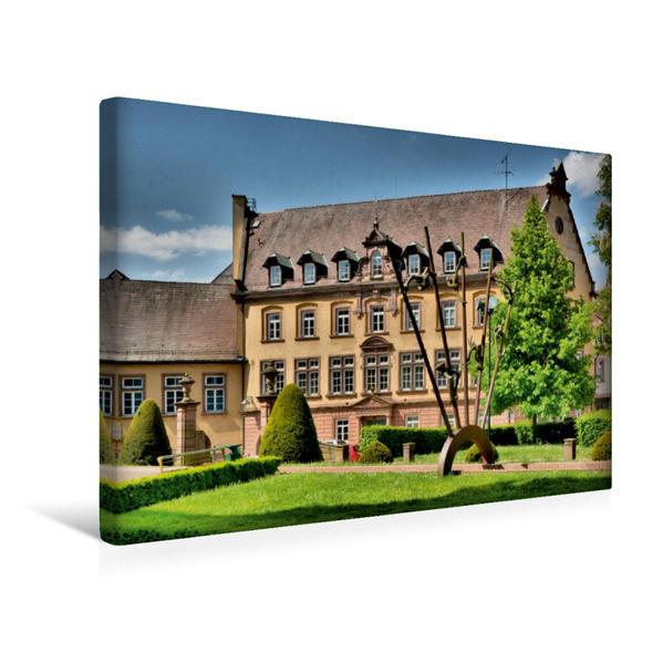 Premium Textil-Leinwand 45 cm x 30 cm quer, In der Klosterstrasse   Wandbild, Bild auf Keilrahmen, Fertigbild auf echter Leinwand, Leinwanddruck - Coverbild