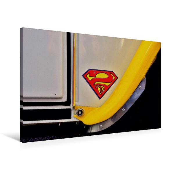 Premium Textil-Leinwand 90 cm x 60 cm quer, Super-Deudeuche   Wandbild, Bild auf Keilrahmen, Fertigbild auf echter Leinwand, Leinwanddruck - Coverbild