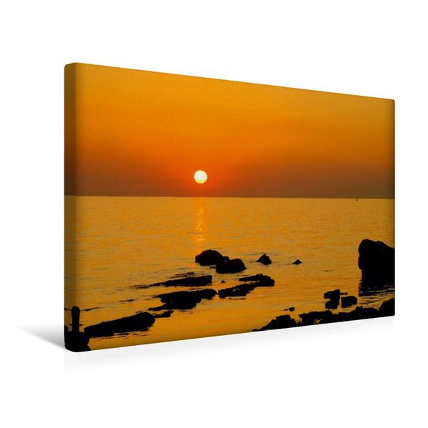 Premium Textil-Leinwand 45 cm x 30 cm quer, Freude | Wandbild, Bild auf Keilrahmen, Fertigbild auf echter Leinwand, Leinwanddruck - Coverbild