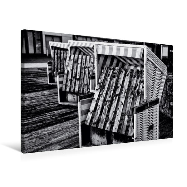 Premium Textil-Leinwand 75 cm x 50 cm quer, Nebensaison   Wandbild, Bild auf Keilrahmen, Fertigbild auf echter Leinwand, Leinwanddruck - Coverbild