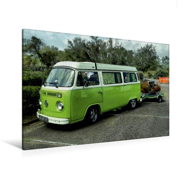 Premium Textil-Leinwand 120 cm x 80 cm quer, T2 | Wandbild, Bild auf Keilrahmen, Fertigbild auf echter Leinwand, Leinwanddruck - Coverbild