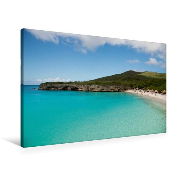 Premium Textil-Leinwand 90 cm x 60 cm quer, Ein Motiv aus dem Kalender Trauminsel Curaçao   Wandbild, Bild auf Keilrahmen, Fertigbild auf echter Leinwand, Leinwanddruck - Coverbild