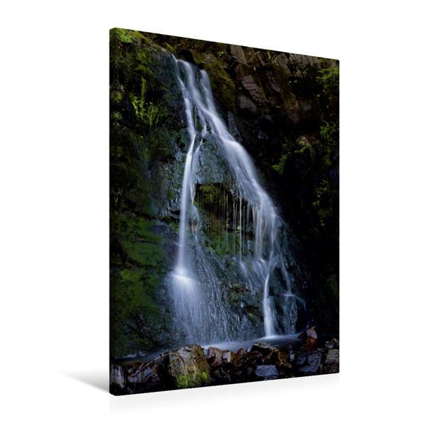 Premium Textil-Leinwand 60 cm x 90 cm hoch, Ein Motiv aus dem Kalender Harzer Wasserwelten | Wandbild, Bild auf Keilrahmen, Fertigbild auf echter Leinwand, Leinwanddruck - Coverbild