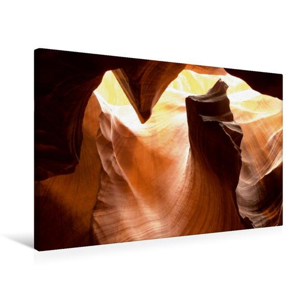 Premium Textil-Leinwand 75 cm x 50 cm quer, Ein Motiv aus dem Kalender Amerikas wilder Westen | Wandbild, Bild auf Keilrahmen, Fertigbild auf echter Leinwand, Leinwanddruck - Coverbild