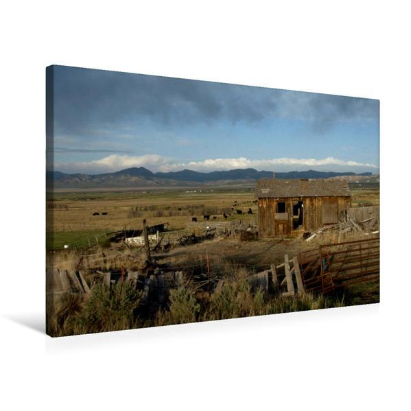 Premium Textil-Leinwand 75 cm x 50 cm quer, Panguitch | Wandbild, Bild auf Keilrahmen, Fertigbild auf echter Leinwand, Leinwanddruck - Coverbild