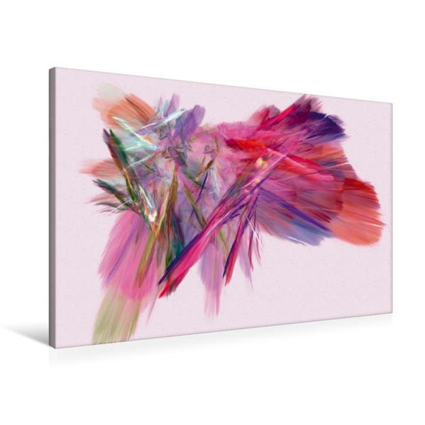 Premium Textil-Leinwand 90 cm x 60 cm quer, Romantik   Wandbild, Bild auf Keilrahmen, Fertigbild auf echter Leinwand, Leinwanddruck - Coverbild