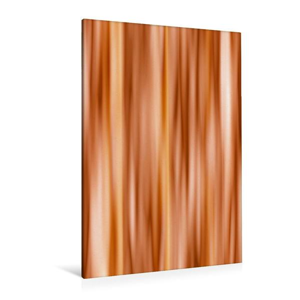Premium Textil-Leinwand 80 cm x 120 cm  hoch, Farbverlauf orange | Wandbild, Bild auf Keilrahmen, Fertigbild auf echter Leinwand, Leinwanddruck - Coverbild