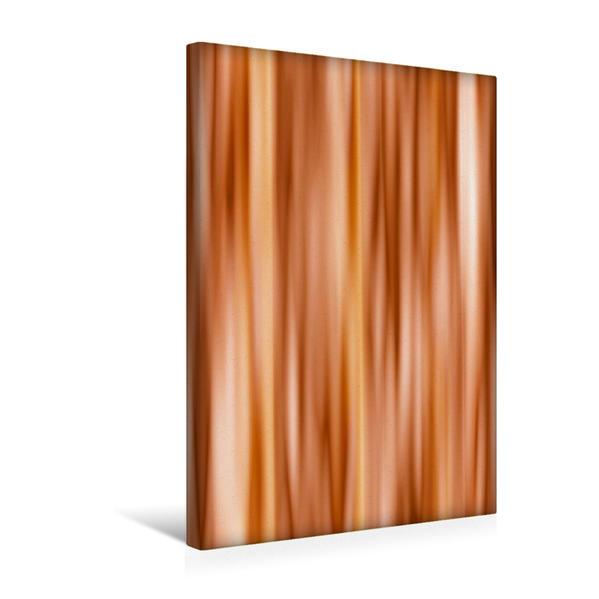 Premium Textil-Leinwand 30 cm x 45 cm hoch, Farbverlauf orange | Wandbild, Bild auf Keilrahmen, Fertigbild auf echter Leinwand, Leinwanddruck - Coverbild