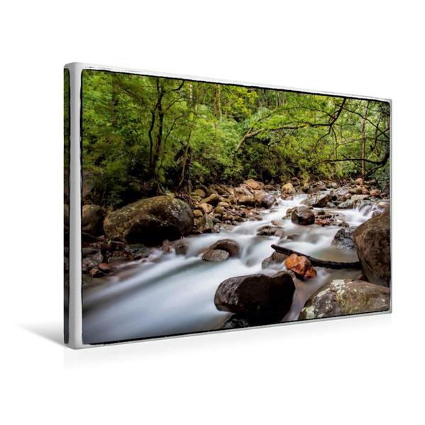 Premium Textil-Leinwand 45 cm x 30 cm quer, Entschleunigende Natur | Wandbild, Bild auf Keilrahmen, Fertigbild auf echter Leinwand, Leinwanddruck - Coverbild