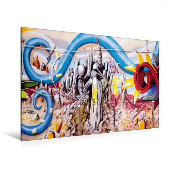 Premium Textil-Leinwand 120 cm x 80 cm quer, Schlachthof, Wiesbaden | Wandbild, Bild auf Keilrahmen, Fertigbild auf echter Leinwand, Leinwanddruck - Coverbild