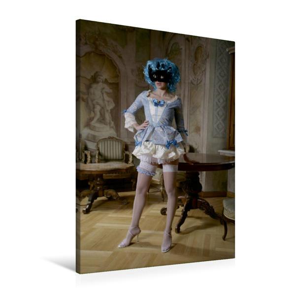 Premium Textil-Leinwand 60 cm x 90 cm hoch, Rollenspiel | Wandbild, Bild auf Keilrahmen, Fertigbild auf echter Leinwand, Leinwanddruck - Coverbild