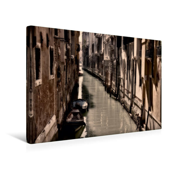 Premium Textil-Leinwand 45 cm x 30 cm quer, Stille Momente   Wandbild, Bild auf Keilrahmen, Fertigbild auf echter Leinwand, Leinwanddruck - Coverbild
