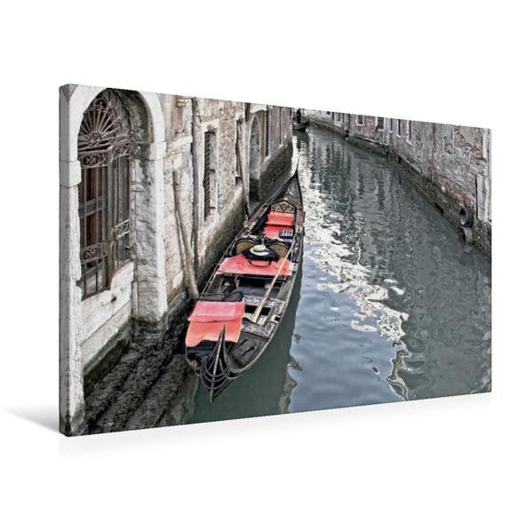 Premium Textil-Leinwand 75 cm x 50 cm quer, Rot | Wandbild, Bild auf Keilrahmen, Fertigbild auf echter Leinwand, Leinwanddruck - Coverbild