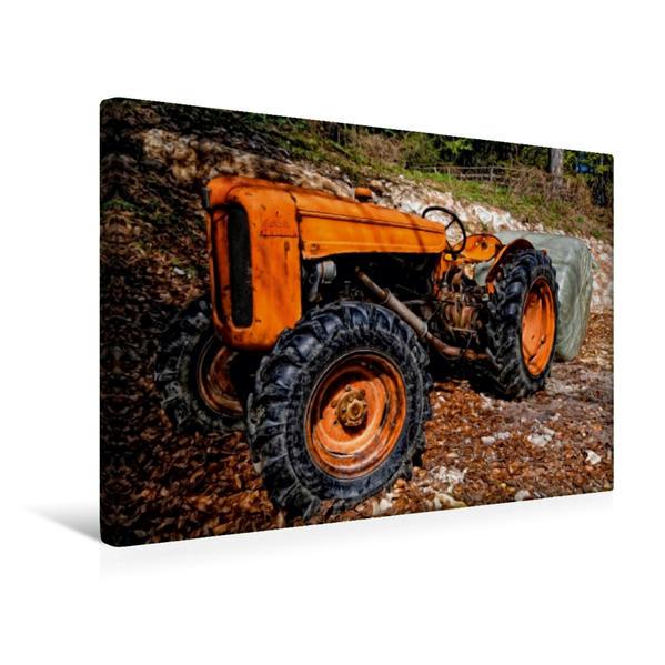 Premium Textil-Leinwand 45 cm x 30 cm quer, Ein Motiv aus dem Kalender Maschinen - Mal anders gesehen | Wandbild, Bild auf Keilrahmen, Fertigbild auf echter Leinwand, Leinwanddruck - Coverbild