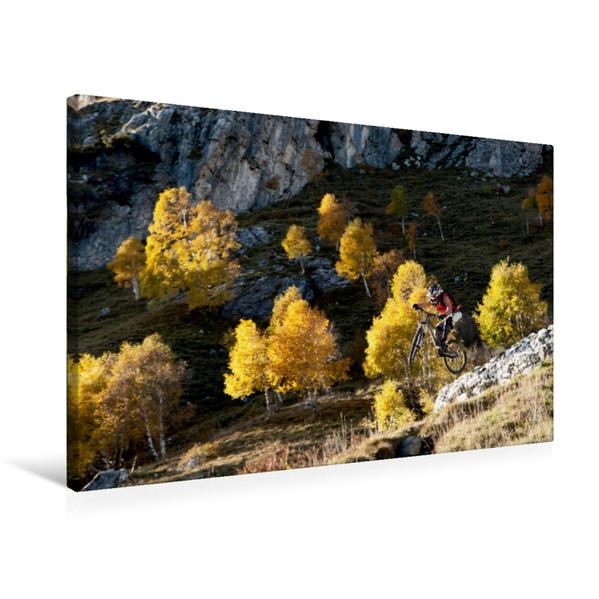Premium Textil-Leinwand 75 cm x 50 cm quer, Como/Italy, | Wandbild, Bild auf Keilrahmen, Fertigbild auf echter Leinwand, Leinwanddruck - Coverbild