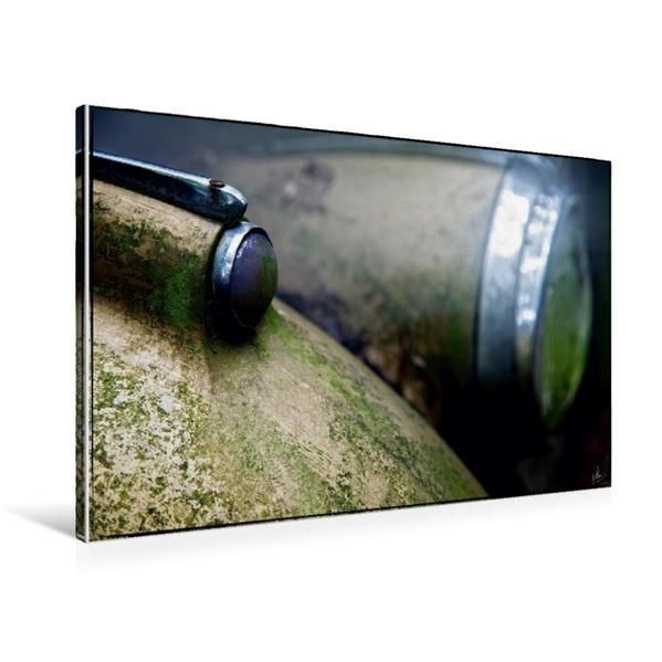 Premium Textil-Leinwand 90 cm x 60 cm quer, Ein Motiv aus dem Kalender Oldtimer - Vergessene Schönheiten | Wandbild, Bild auf Keilrahmen, Fertigbild auf echter Leinwand, Leinwanddruck - Coverbild