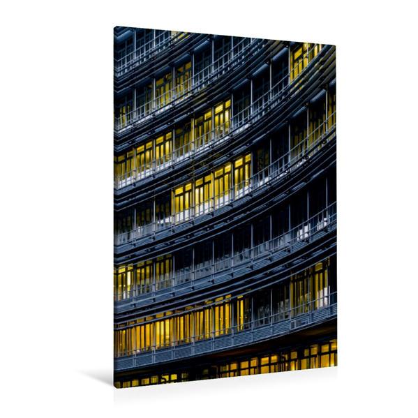 Premium Textil-Leinwand 80 cm x 120 cm  hoch, Fassade | Wandbild, Bild auf Keilrahmen, Fertigbild auf echter Leinwand, Leinwanddruck - Coverbild