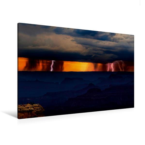 Premium Textil-Leinwand 120 cm x 80 cm quer, Grand Canyon, Utah, USA | Wandbild, Bild auf Keilrahmen, Fertigbild auf echter Leinwand, Leinwanddruck - Coverbild