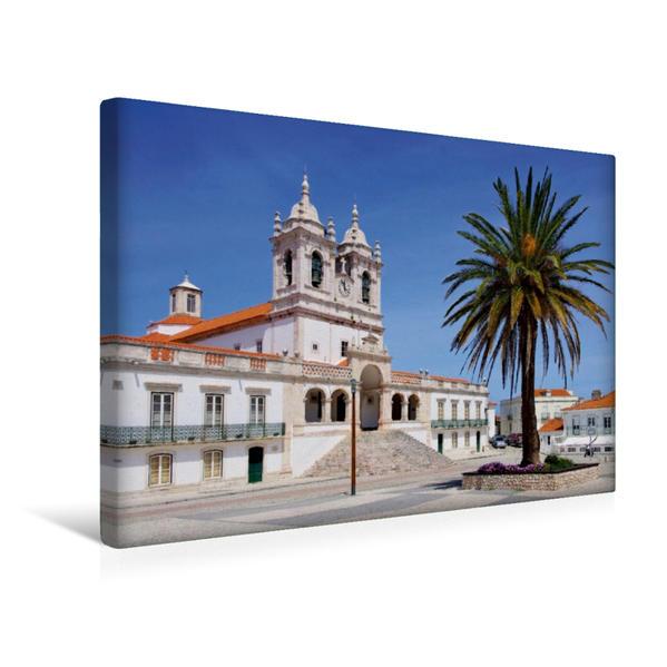 Premium Textil-Leinwand 45 cm x 30 cm quer, Nazare | Wandbild, Bild auf Keilrahmen, Fertigbild auf echter Leinwand, Leinwanddruck - Coverbild