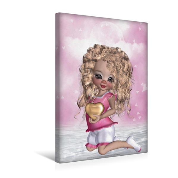 Premium Textil-Leinwand 30 cm x 45 cm hoch, Ein Motiv aus dem Kalender Jugendliche Traumwelten | Wandbild, Bild auf Keilrahmen, Fertigbild auf echter Leinwand, Leinwanddruck - Coverbild
