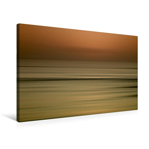 Premium Textil-Leinwand 75 cm x 50 cm quer, Ein Motiv aus dem Kalender Träume am Meer   Wandbild, Bild auf Keilrahmen, Fertigbild auf echter Leinwand, Leinwanddruck - Coverbild