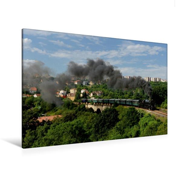 Premium Textil-Leinwand 120 cm x 80 cm quer, Der Prager Semmering | Wandbild, Bild auf Keilrahmen, Fertigbild auf echter Leinwand, Leinwanddruck - Coverbild