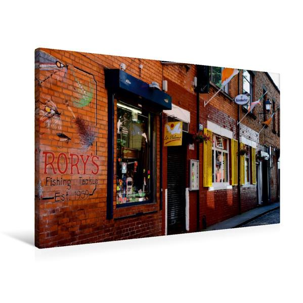 Premium Textil-Leinwand 90 cm x 60 cm quer, Ein Motiv aus dem Kalender Irland mit eigenen Augen Erleben | Wandbild, Bild auf Keilrahmen, Fertigbild auf echter Leinwand, Leinwanddruck - Coverbild