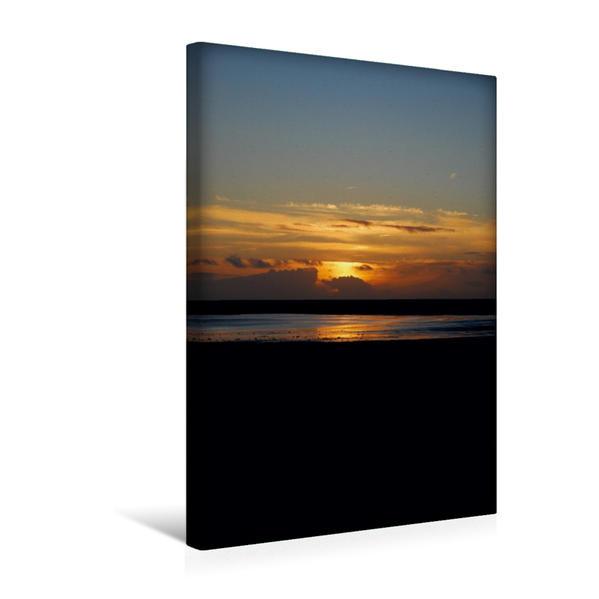 Premium Textil-Leinwand 30 cm x 45 cm hoch, Ein Motiv aus dem Kalender St. Peter-Ordings Lichtspiele | Wandbild, Bild auf Keilrahmen, Fertigbild auf echter Leinwand, Leinwanddruck - Coverbild