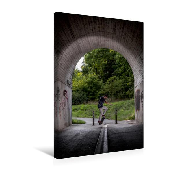 Premium Textil-Leinwand 30 cm x 45 cm hoch, Robert S. - Style Olli | Wandbild, Bild auf Keilrahmen, Fertigbild auf echter Leinwand, Leinwanddruck - Coverbild