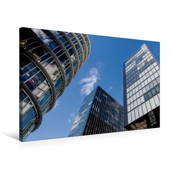 Premium Textil-Leinwand 75 cm x 50 cm quer, Hyatt Regency   Wandbild, Bild auf Keilrahmen, Fertigbild auf echter Leinwand, Leinwanddruck - Coverbild