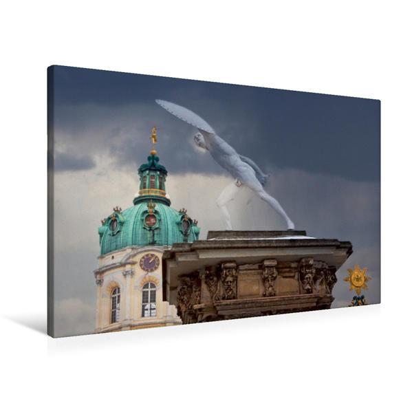 Premium Textil-Leinwand 90 cm x 60 cm quer, Ein Motiv aus dem Kalender Berlin - Lebenslust | Wandbild, Bild auf Keilrahmen, Fertigbild auf echter Leinwand, Leinwanddruck - Coverbild