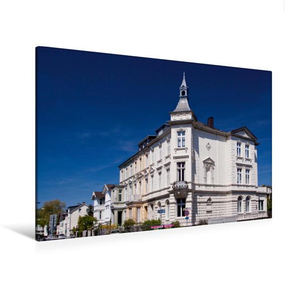 Premium Textil-Leinwand 120 cm x 80 cm quer, Kurfürstenstrasse   Wandbild, Bild auf Keilrahmen, Fertigbild auf echter Leinwand, Leinwanddruck - Coverbild