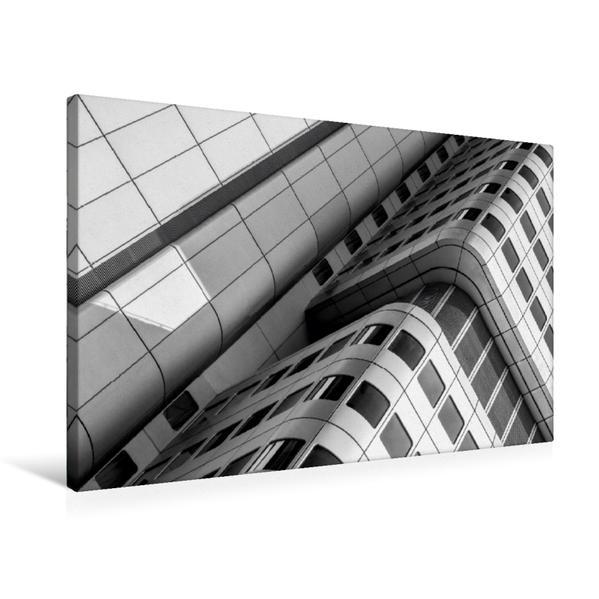Premium Textil-Leinwand 75 cm x 50 cm quer, Ein Motiv aus dem Kalender Architektur - Fassaden im Detail 2017 | Wandbild, Bild auf Keilrahmen, Fertigbild auf echter Leinwand, Leinwanddruck - Coverbild