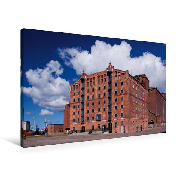 Premium Textil-Leinwand 90 cm x 60 cm quer, Thormann-Speicher | Wandbild, Bild auf Keilrahmen, Fertigbild auf echter Leinwand, Leinwanddruck - Coverbild