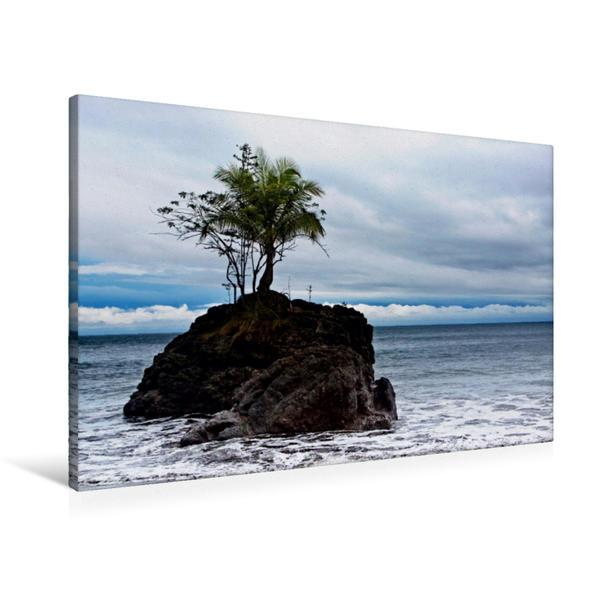 Premium Textil-Leinwand 90 cm x 60 cm quer, Nuquí, Kolumbien | Wandbild, Bild auf Keilrahmen, Fertigbild auf echter Leinwand, Leinwanddruck - Coverbild