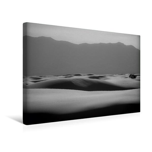 Premium Textil-Leinwand 45 cm x 30 cm quer, Ein Motiv aus dem Kalender White Sands National Monument   Wandbild, Bild auf Keilrahmen, Fertigbild auf echter Leinwand, Leinwanddruck - Coverbild