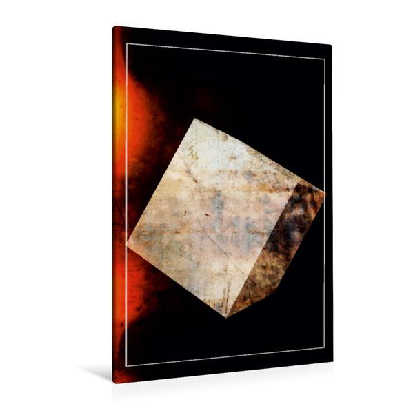 Premium Textil-Leinwand 80 cm x 120 cm  hoch, Ein Motiv aus dem Kalender KUNSTFORM DIGITALKUNST | Wandbild, Bild auf Keilrahmen, Fertigbild auf echter Leinwand, Leinwanddruck - Coverbild