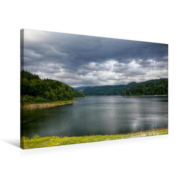 Premium Textil-Leinwand 75 cm x 50 cm quer, Harz   Wandbild, Bild auf Keilrahmen, Fertigbild auf echter Leinwand, Leinwanddruck - Coverbild