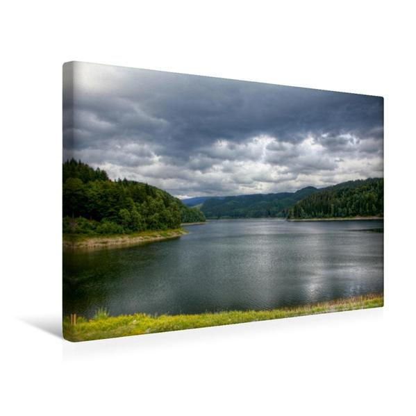 Premium Textil-Leinwand 45 cm x 30 cm quer, Harz | Wandbild, Bild auf Keilrahmen, Fertigbild auf echter Leinwand, Leinwanddruck - Coverbild