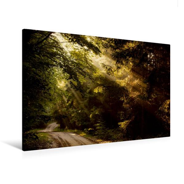 Premium Textil-Leinwand 120 cm x 80 cm quer, Ein Motiv aus dem Kalender Poetische Wege | Wandbild, Bild auf Keilrahmen, Fertigbild auf echter Leinwand, Leinwanddruck - Coverbild
