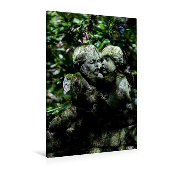 Premium Textil-Leinwand 80 cm x 120 cm  hoch, Ein Motiv aus dem Kalender Auf Engels Schwingen | Wandbild, Bild auf Keilrahmen, Fertigbild auf echter Leinwand, Leinwanddruck - Coverbild