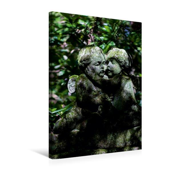 Premium Textil-Leinwand 50 cm x 75 cm hoch, Ein Motiv aus dem Kalender Auf Engels Schwingen   Wandbild, Bild auf Keilrahmen, Fertigbild auf echter Leinwand, Leinwanddruck - Coverbild