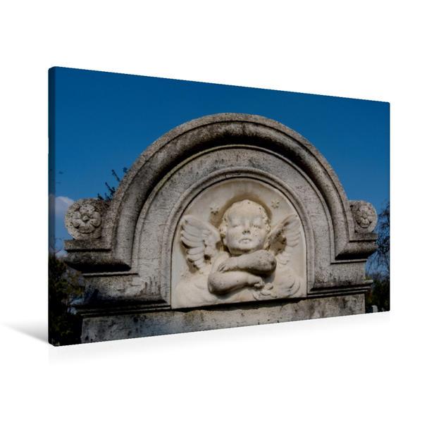 Premium Textil-Leinwand 90 cm x 60 cm quer, Ein Motiv aus dem Kalender Himmlischer Engelsnachwuchs   Wandbild, Bild auf Keilrahmen, Fertigbild auf echter Leinwand, Leinwanddruck - Coverbild