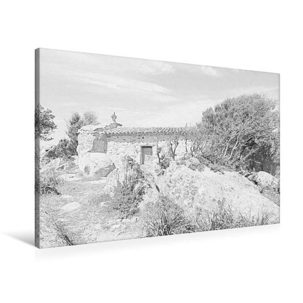 Premium Textil-Leinwand 90 cm x 60 cm quer, Ein Motiv aus dem Kalender Bleistiftzeichnungen | Wandbild, Bild auf Keilrahmen, Fertigbild auf echter Leinwand, Leinwanddruck - Coverbild