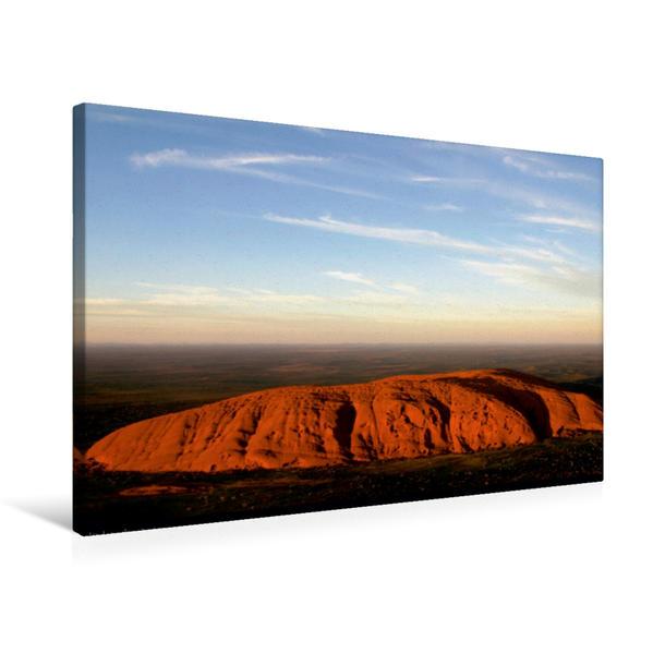 Premium Textil-Leinwand 75 cm x 50 cm quer, Ein Motiv aus dem Kalender Dreamtime-Traumzeit Australien   Wandbild, Bild auf Keilrahmen, Fertigbild auf echter Leinwand, Leinwanddruck - Coverbild