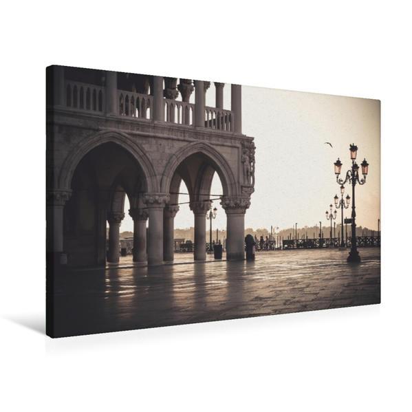 Premium Textil-Leinwand 75 cm x 50 cm quer, San Marco | Wandbild, Bild auf Keilrahmen, Fertigbild auf echter Leinwand, Leinwanddruck - Coverbild